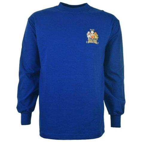 Manchester United 1968 European Cup Final Retro Football Shirt