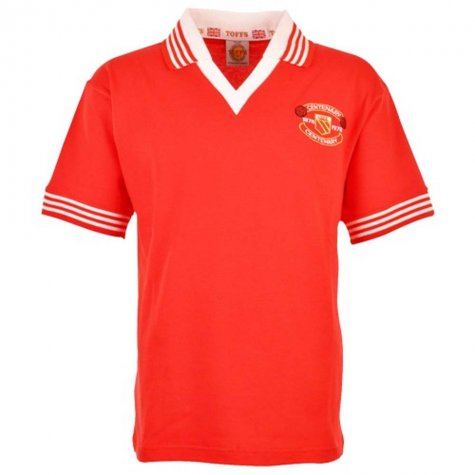 Manchester United 1978-79 Retro Football Shirt