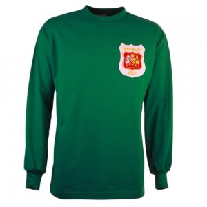 Manchester United 1957 FA Cup Final Retro Goalkeeper Football Shirt