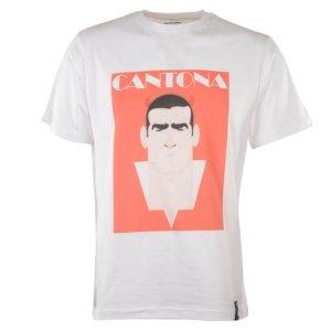 Manchester United Retro Cantona T-Shirt (White)