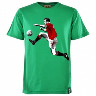 Manchester United Retro Cantona T-Shirt (Green)