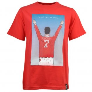 Manchester United Retro I Am Cantona T-Shirt (Red)