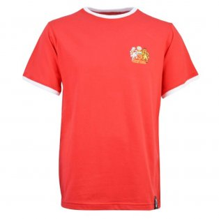 Manchester United Retro 12th Man T-Shirt - Ringer