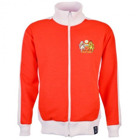 Manchester United Number Retro Track Top