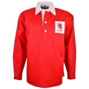 Middlesbrough 1940s Retro Football Shirt