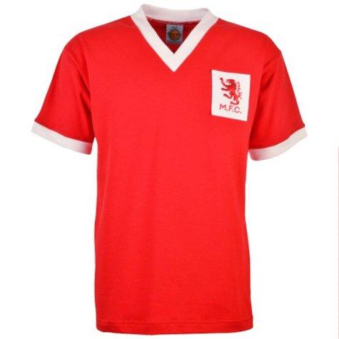 Middlesbrough 1950s Retro Football Shirt
