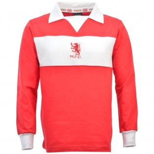 Middlesbrough 1970s Retro Football Shirt