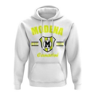 Modena Established Football Hoody (White)