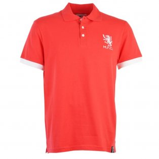 Middlesbrough Retro Red Polo Shirt