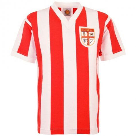 Stoke City Stan Matthews 1961 Retro Football Shirt