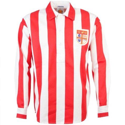 Stoke City 1940s Retro Football Shirt