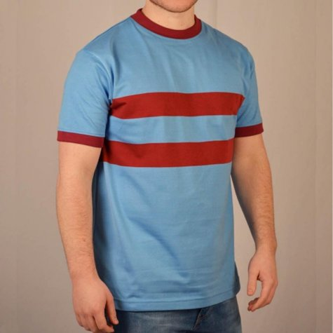 West Ham- Thames Iron Works 1960s Away Retro Football Shirt