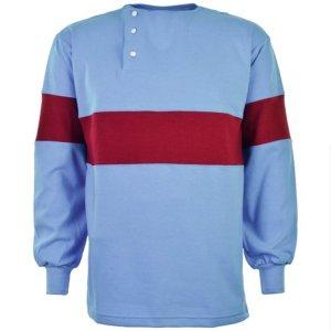 West Ham- Thames Iron Works 1902-1903 Home Retro Football Shirt
