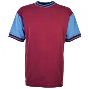 West Ham- Thames Iron Works 1966 Home Retro Football Shirt