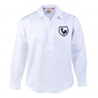 Tottenham 1940s-1950s Retro Football Shirt