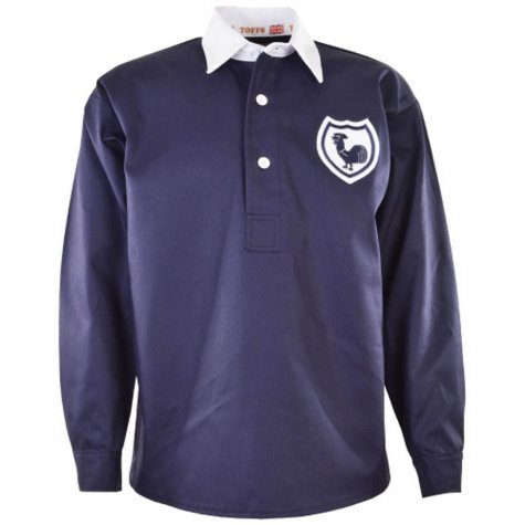 Tottenham 1940s-1950s Away Retro Football Shirt