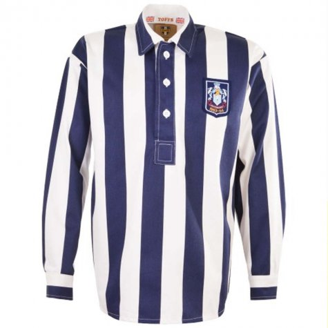 West Bromwich Albion 1954 FA Cup Final Retro Football Shirt
