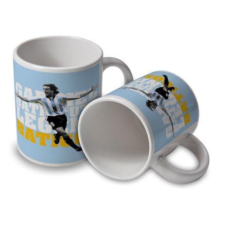Gabriel Batistuta Argentina Player Mug