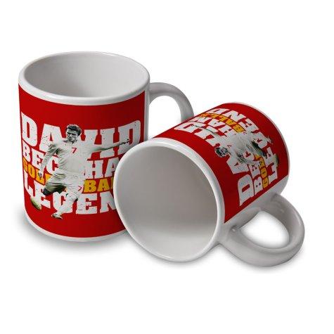 David Beckham Player Mug