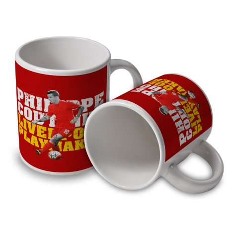 Philippe Coutinho Liverpool Player Mug