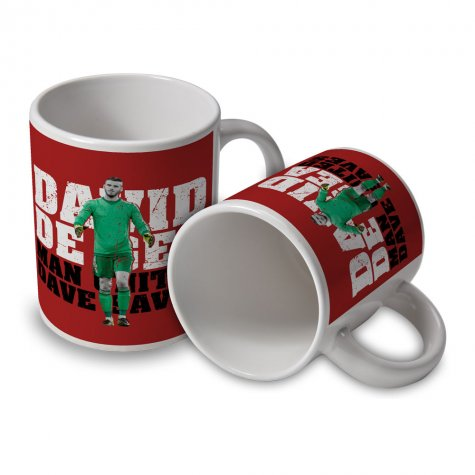 David De Gea Man Utd Player Mug