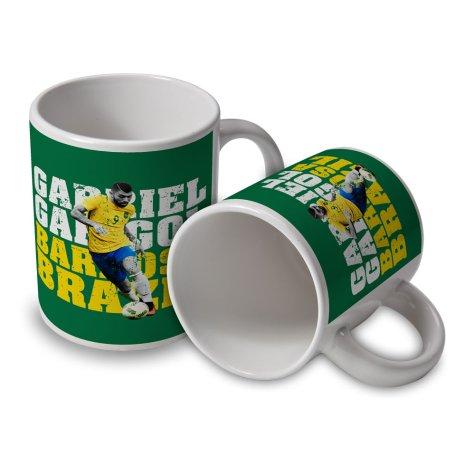 Gabriel Barbosa Brazil Player Mug
