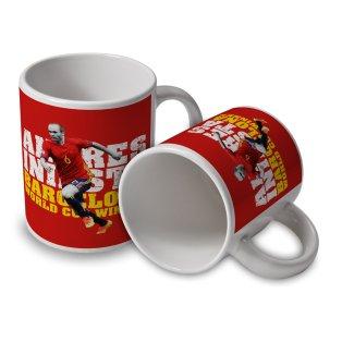 Andres Iniesta Spain Player Mug