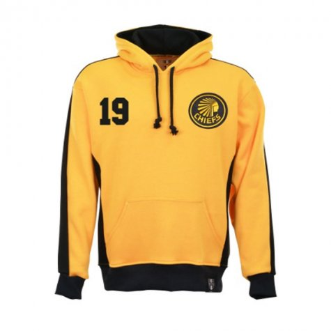 Kaizer Chiefs Number 19 Retro Football Hoodie