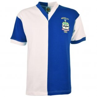 Blackburn 1960 FA Cup Final Retro Football Shirt