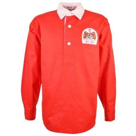 Bristol City 1955-1956 Retro Football Shirt  TOFFS1044  - Uksoccershop ca9a0c5b5