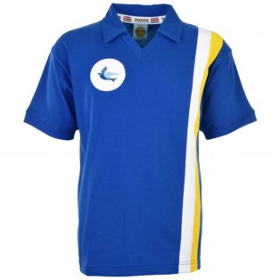 Cardiff City 1975-1977 Retro Football Shirt