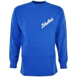 Cardiff City 1960s Bluebird Retro Football Shirt