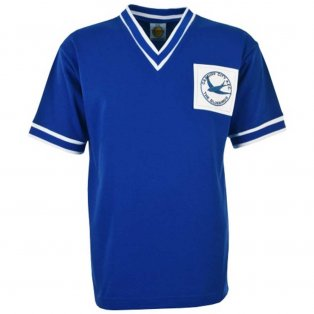 Cardiff City 1959-1960 Retro Football Shirt