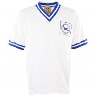 Cardiff City 1960s Away Retro Football Shirt