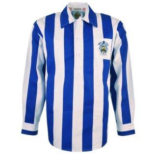 Huddersfield Town 1950s Retro Football Shirt