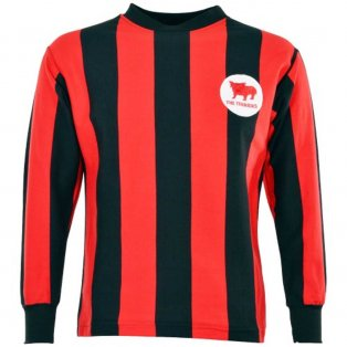 Huddersfield 1960s Away Retro Football Shirt