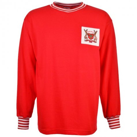 Nottingham Forest 1967 -1970 Retro Football Shirt