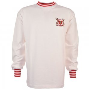 Nottingham Forest 1960s-1970s Away Retro Football Shirt