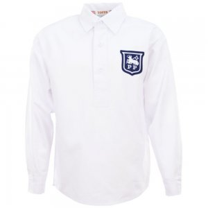 Preston North End 1940s-1950s Retro Football Shirt