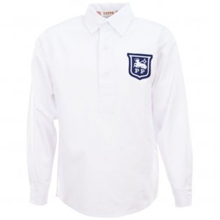 Preston North End 1940s-1950s Retro Football Shirt