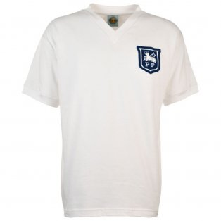 Preston North End 1960s Retro Football Shirt
