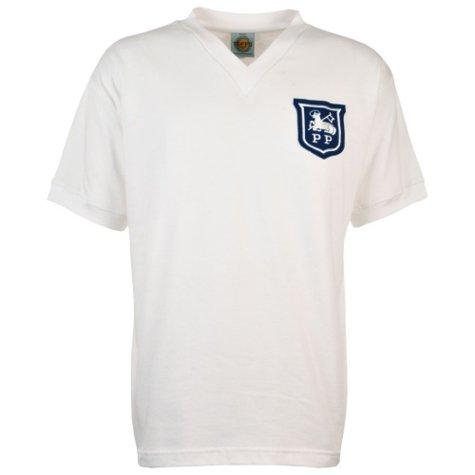 Preston North End 1960s Retro Football Shirt