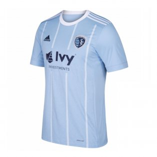 2018 Sporting Kansas City Adidas Home Football Shirt