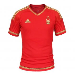 2015-2016 Nottingham Forest Adidas Home Football Shirt