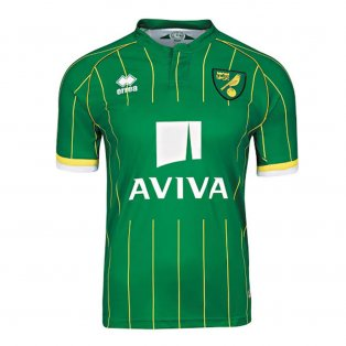 2015-2016 Norwich City Errea Away Football Shirt