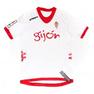 2012-2013 Sporting Gijon Kappa Third Football Shirt