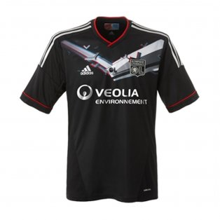 2012-2013 Olympique Lyon Adidas Special Edition 3D Third Football Shirt