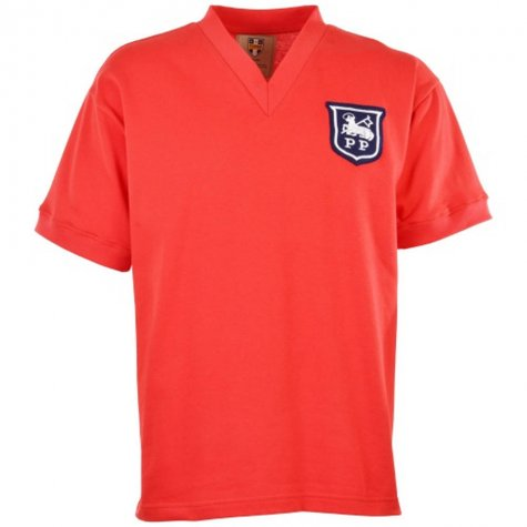 Preston North End 1958 Away Retro Football Shirt