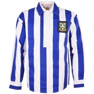 Sheffield Wednesday 1940-1950 Retro Football Shirt