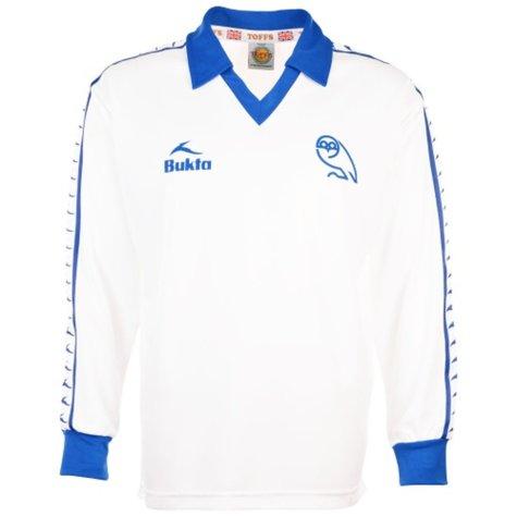 Sheffield Wednesday 1981-1982 3rd Retro Football Shirt